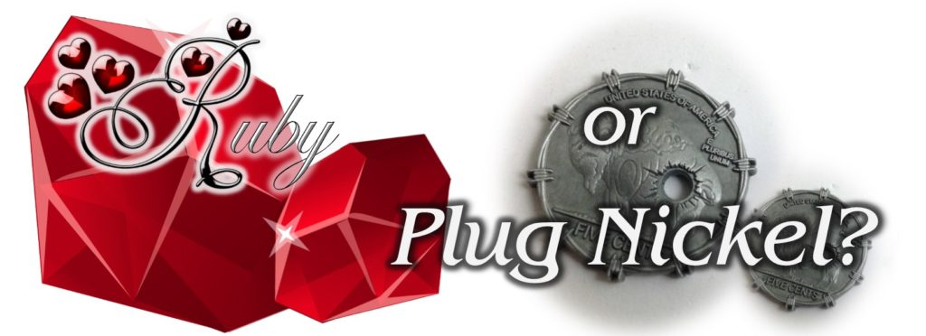 rubies plug nickel